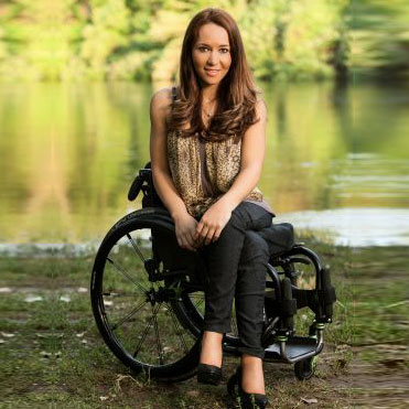 photo of Inspiring Latina of the Week: Spinal Cord Injury Survivor Tamara Mena