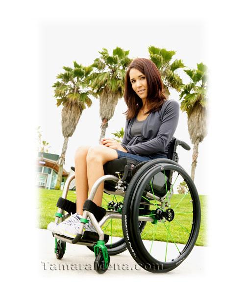 Venice Beach, LA. Photo Courtesy of TiLite Wheelchairs.