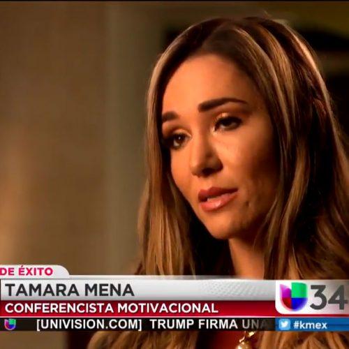 Tamara on Univision 34